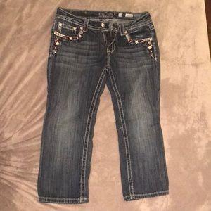 MissMe Capri Jeans size 31